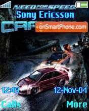 Need for Speed Carbon es el tema de pantalla