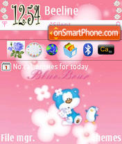 BluePink theme screenshot