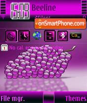 Grapes S60v3 theme screenshot