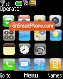 Apple - iPhone es el tema de pantalla