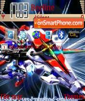 Gundam Force Shinn theme screenshot