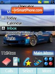 Corvette Zr1 2009 theme screenshot