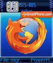 Animated Firefox theme screenshot
