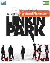 LP Minutes To Midnight theme screenshot