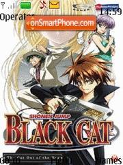 Black Cat 02 theme screenshot