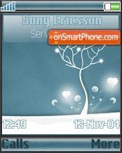 Snow Tree theme screenshot