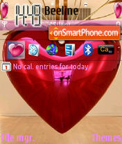 Sweet Heart es el tema de pantalla
