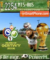 World Cup 2007 theme screenshot