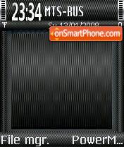 Carbon 02 theme screenshot