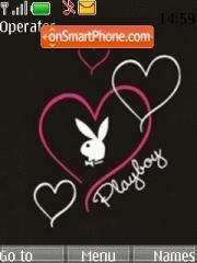Playboy Hearts theme screenshot
