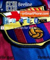 FC Barselona es el tema de pantalla