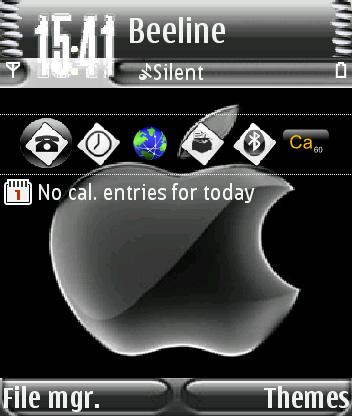 Apple Ver2s60v3 theme screenshot
