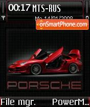 Porsche Carrera 01 es el tema de pantalla