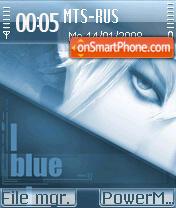 Blue Emotions es el tema de pantalla