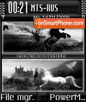 Black&White es el tema de pantalla