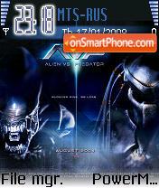 Alien vs Prredator es el tema de pantalla