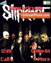 Slipknot 01 theme screenshot