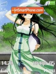 Anime Girl 04 es el tema de pantalla