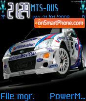 Focus Rally es el tema de pantalla