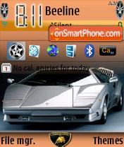 Lamborghini Theme es el tema de pantalla