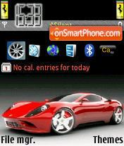 Ferrari Theme es el tema de pantalla