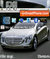 Mercedes Benz Theme es el tema de pantalla