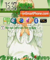 Holly Angel theme screenshot