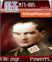 Ataturk es el tema de pantalla