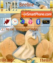 Sweet Bear theme screenshot