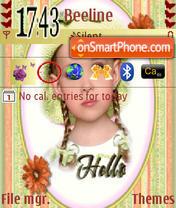 Sweet Baby theme screenshot