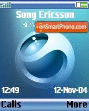 Sony Ericsson 06 theme screenshot