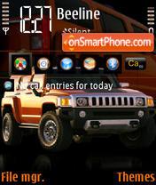Hummer H3 02 theme screenshot