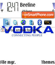 Vodka 01 es el tema de pantalla
