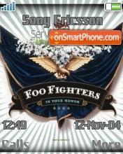 Foo Fighters theme screenshot