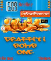 Graffiti 03 theme screenshot