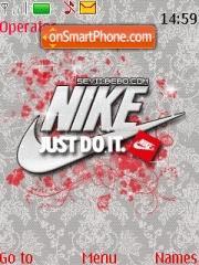 Capture d'écran Nike 05 thème