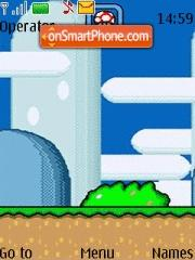Super Mario World theme screenshot