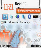 Funky Beats v02 theme screenshot