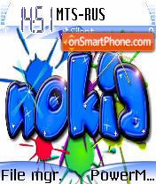 Fanny Nokia es el tema de pantalla