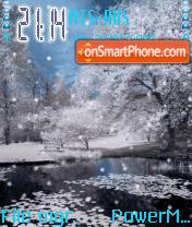 Animated Snow es el tema de pantalla
