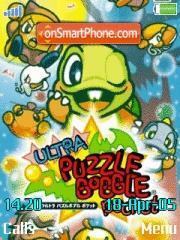 Ultra Puzzle Bobble es el tema de pantalla