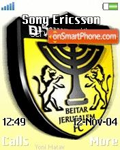 Beitar Jerusalem theme screenshot