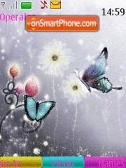 Butterfly 129 tema screenshot