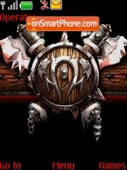Wow Horde theme screenshot