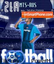 Beckham 01 theme screenshot