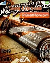Nfs Most Wanted 2 es el tema de pantalla