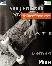 Skateboard 02 theme screenshot