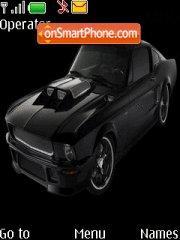 Mustang Obsidian theme screenshot