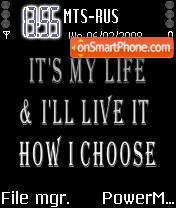 It's My Life es el tema de pantalla
