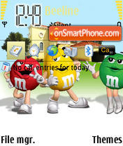 M & M's v2 theme screenshot